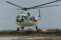 """Ukrainian Helicopters"" started operating as part of the WFP in the Southern Sudan"