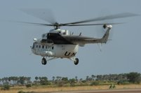 """Ukrainian Helicopters"" transported injured UN officers in the Republic of Sudan"