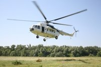 Ukrainian Helicopters` instructors trained American pilots at the Bolshaya Kahnovka aerodrome
